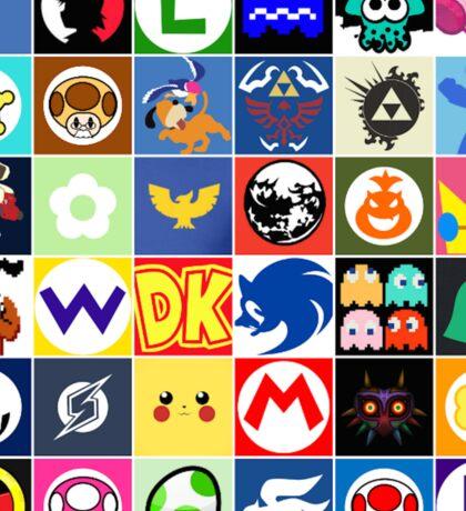 Nintendo Collage Sticker