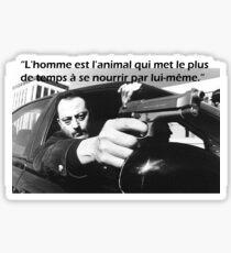 Jean Reno Sticker