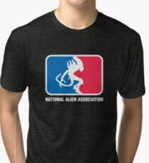 National Alien Association Tri-blend T-Shirt