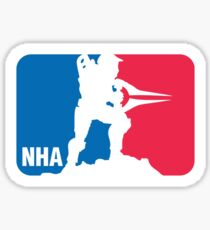 National Halo Association Sticker