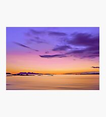 Alba Evening Photographic Print