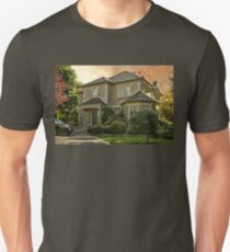 Stucco House in Autumn T-Shirt