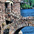 Boldt Castle Power House Close Up, Thousand Islands, NY by Melissa Carlini