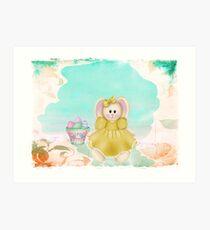 Hoppy Easter ~ Art Print