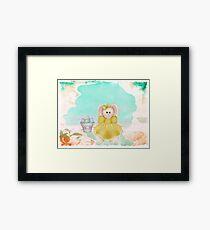Hoppy Easter ~ Framed Print