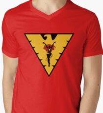 The Dark Phoenix Men's V-Neck T-Shirt