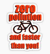 Zero Pollution (En) Sticker