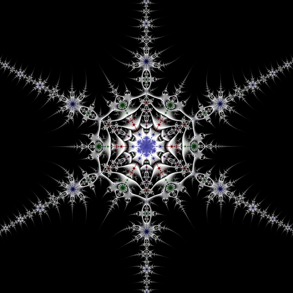 Pewter Snowflake by Ross Hilbert