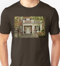 Red Brick House in Autumn T-Shirt