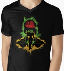 Zebes Conflict Men's V-Neck T-Shirt