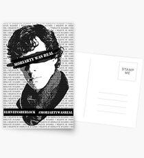 #believeinsherlock Propaganda  Postcards