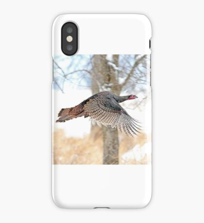 As God as my Witness... Wild Turkeys can fly! iPhone Case/Skin