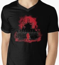 What a Horrible Night to Have a Curse Men's V-Neck T-Shirt