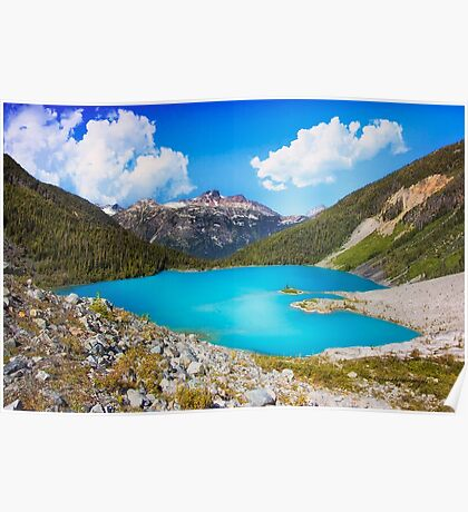Upper Joffre Lake - British Columbia Poster