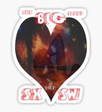 The Big Sleep..tee Sticker