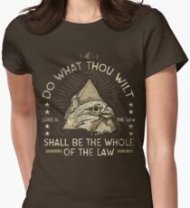 Do What Thou Wilt Women's Fitted T-Shirt