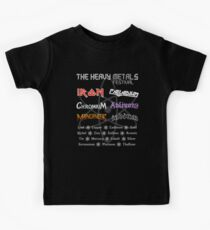 The Heavy Metals Festival Kids Clothes