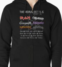 The Heavy Metals Festival Zipped Hoodie