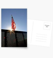 Remembering Our Heros Postcards