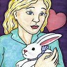 Gift of the White Rabbit by DarkRubyMoon