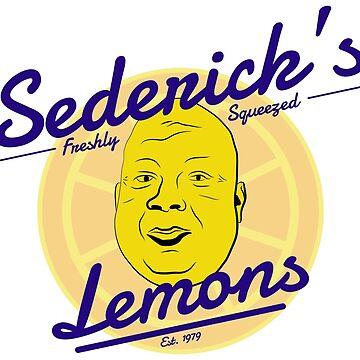 Sederick's Freshly Squeezed Lemons by FMBDesigns
