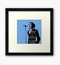 In Blue - 1971 Framed Print