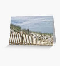 All fenced in Greeting Card