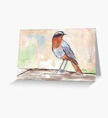 The OC Robin Greeting Card