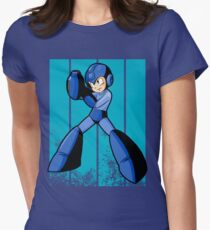 Megaman Women's Fitted T-Shirt