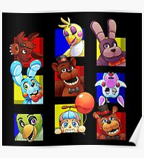 Five Nights at Freddy's Gang Poster