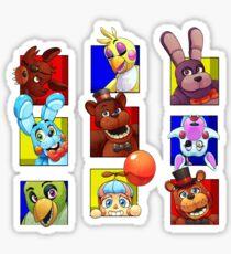 Five Nights at Freddy's Gang Sticker