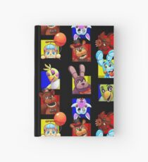 Five Nights at Freddy's Gang Hardcover Journal