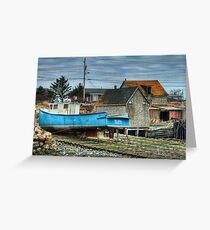 Port Maitland Fishing Boat Greeting Card