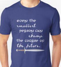 Camiseta ajustada Incluso la persona más pequeña