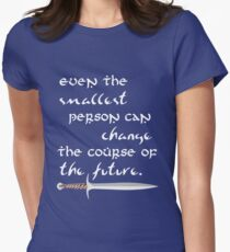 Even The Smallest Person Womens Fitted T-Shirt
