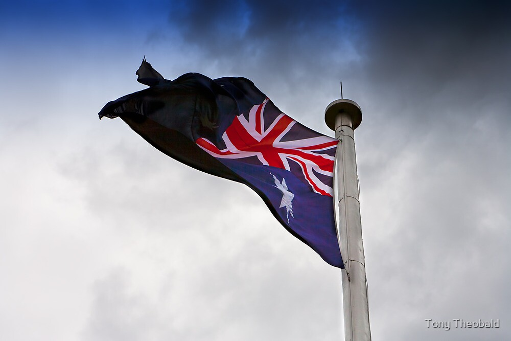 Australian Flag by Tony Theobald