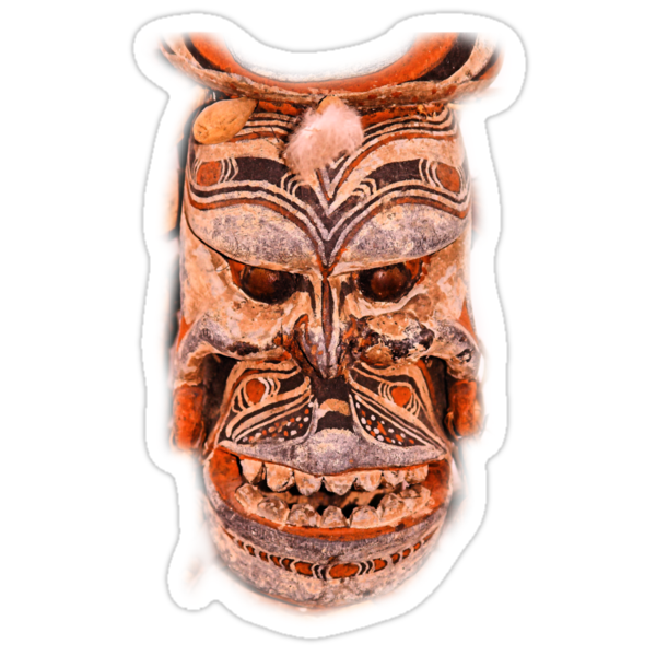 Papua New Guinea Mask by Geoffrey Higges