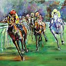Racing Colours number 2 by christine purtle