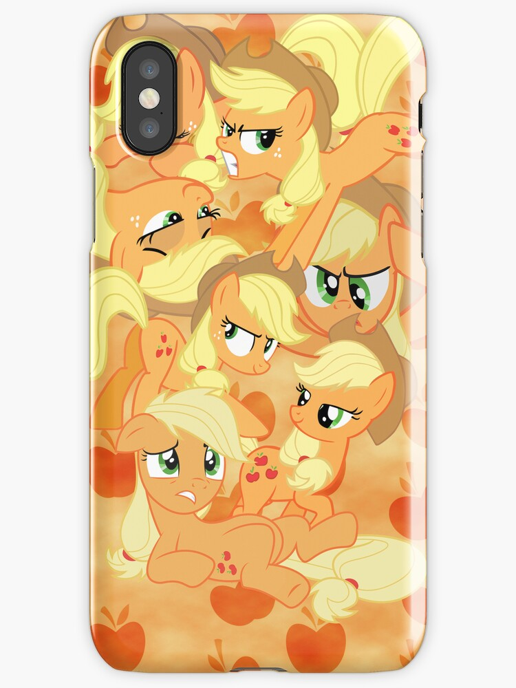 Applejacked iPhone Case by SilverPonyWare