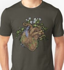Heart - Wood Unisex T-Shirt