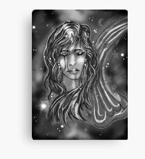 """Celestial Sly: A Wish"" Canvas Print"