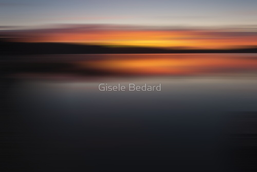 Summer sunrise by Gisele Bedard