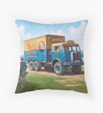 Fossett's Circus AEC Militant Throw Pillow