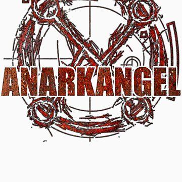 AnarkAngel Band Logo coloured by Firebiro