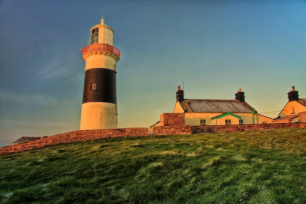 Mine Head light house by Edwin O' Sullivan