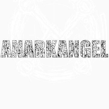 AnarkAngel Band Logo white by Firebiro