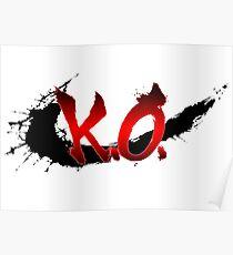 Street Fighter K.O. Poster