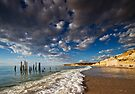High Tide at Pt Willunga by KathyT