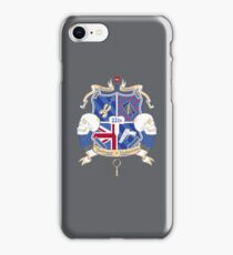 Sherlock's School of Deduction iPhone Case/Skin