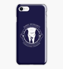 A good old fashioned villain iPhone Case/Skin